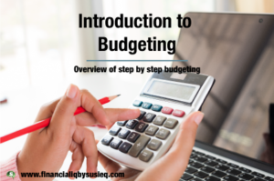 Introduction to Budgeting