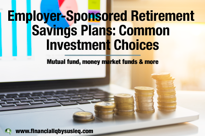 Employer-Sponsored Retirement Savings Plans: Common Investment Choices