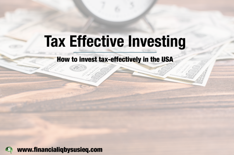 Tax Efficient Investing: USA