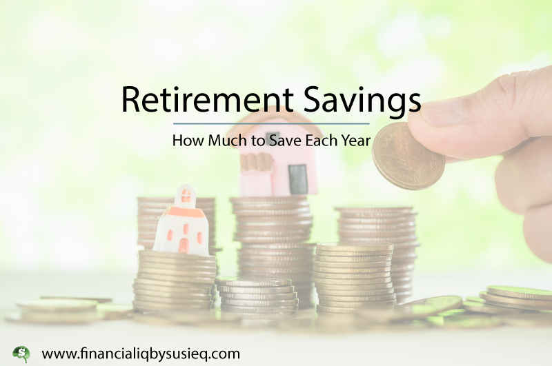 Annual Retirement Savings Targets