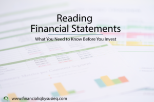 Reading Financial Statements