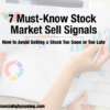 7 Must-Know Stock Market Sell Signals